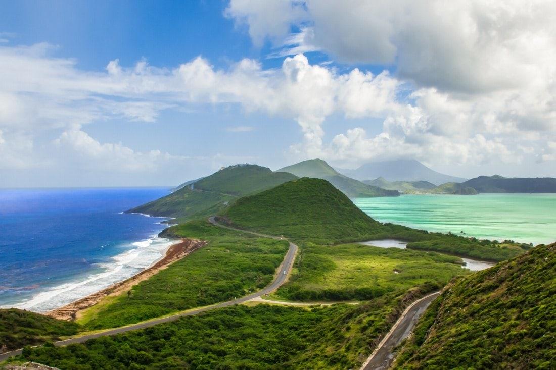 St Kitt, Caribbean