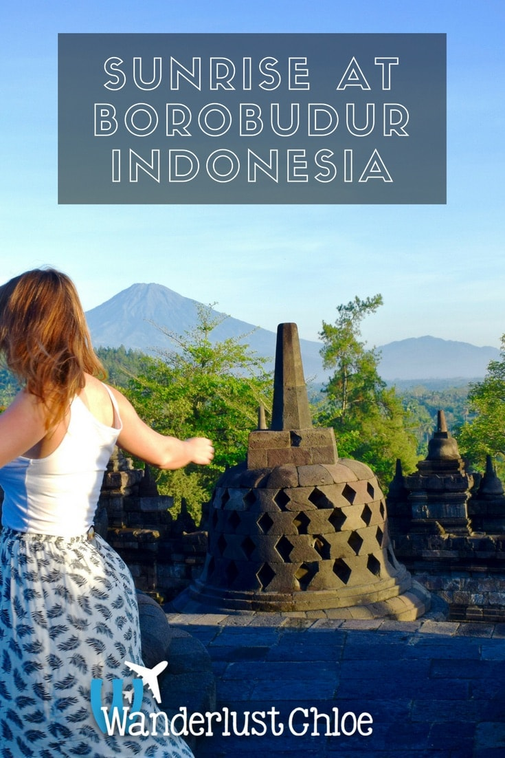 Sunrise At Borobudur, Yogyakarta, Indonesia