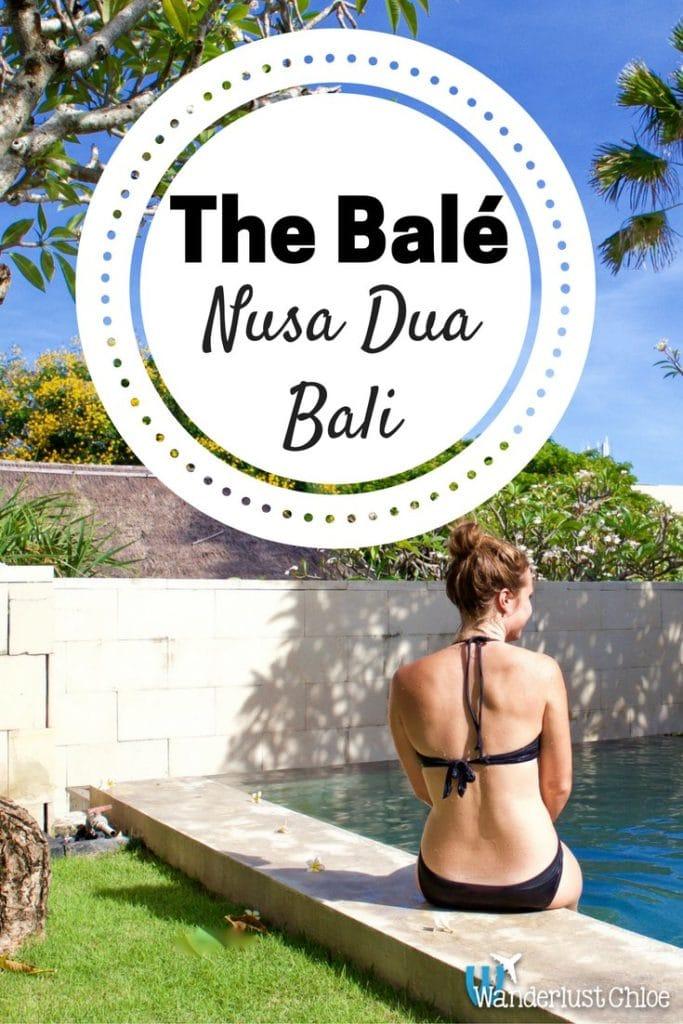 The Bale, Nusa Dua, Bali