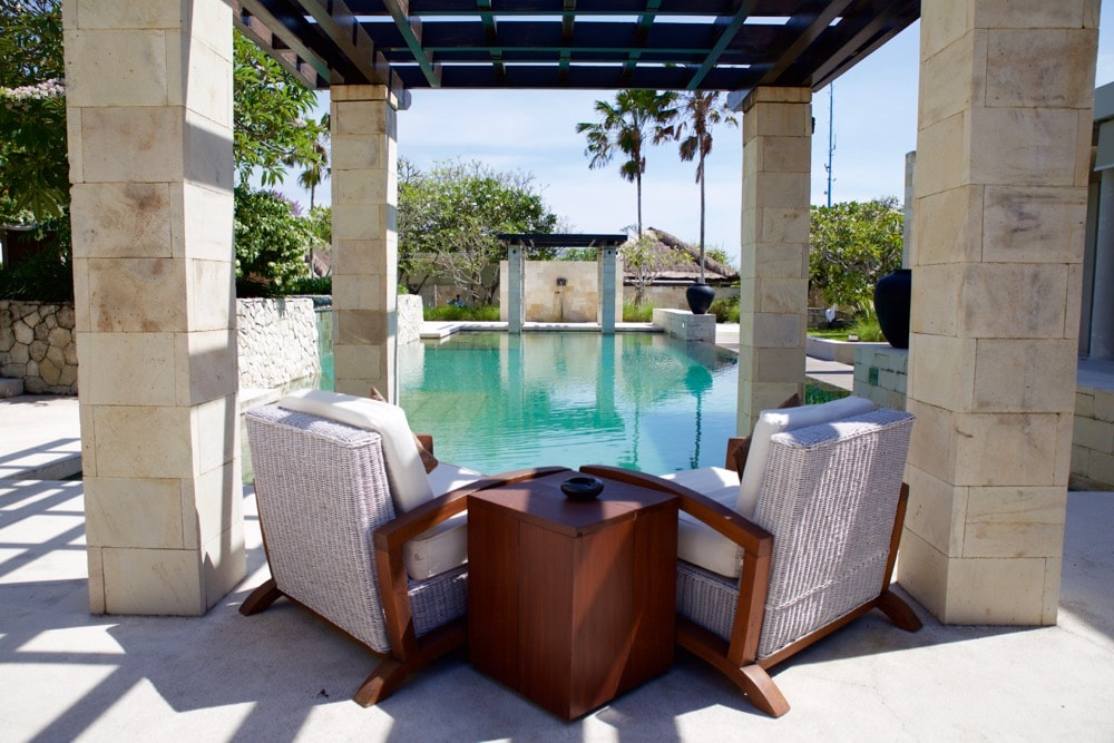 The Bale Bali review - gorgeous pool area
