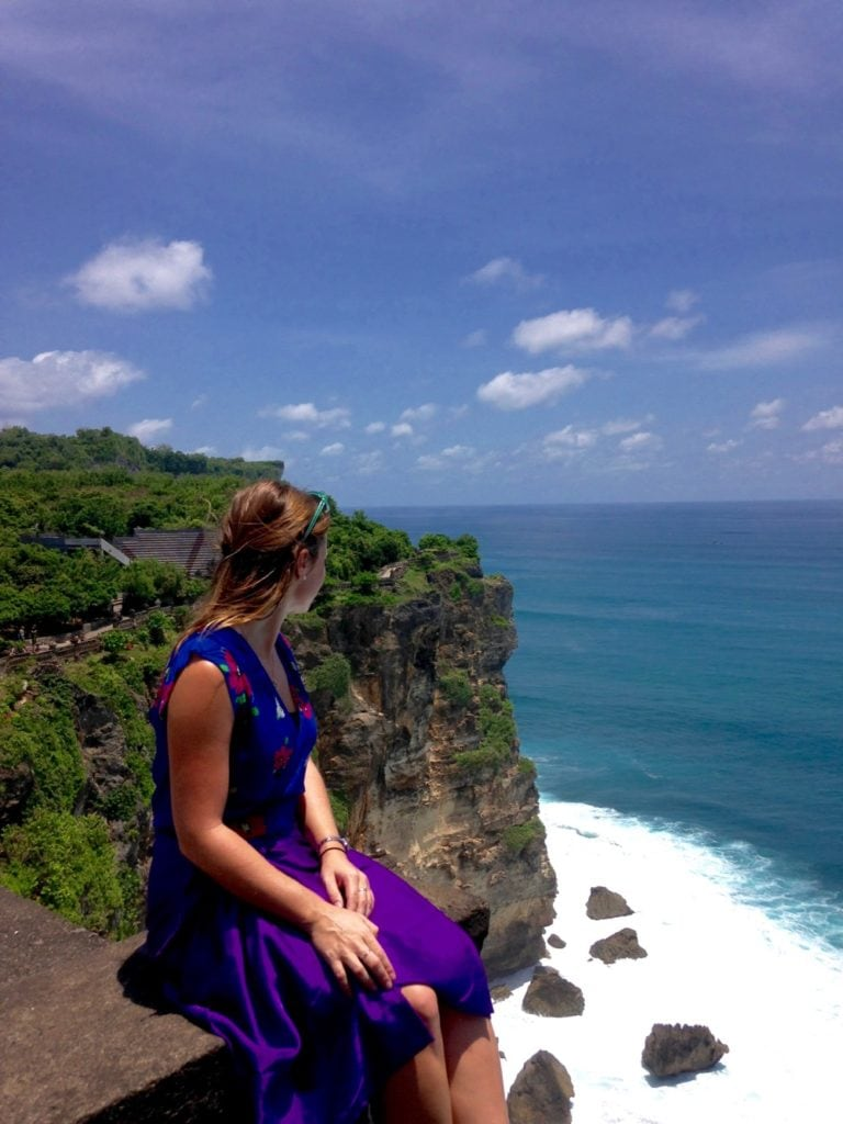 The view from Uluwatu, Bali