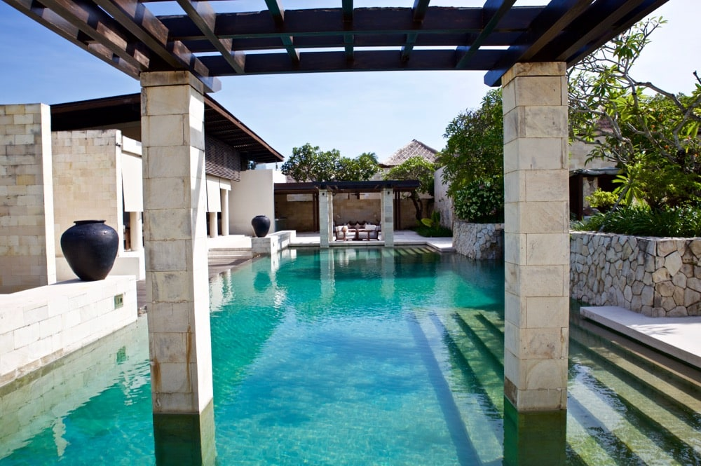 Main pool area at The Bale, Nusa Dua, Bali