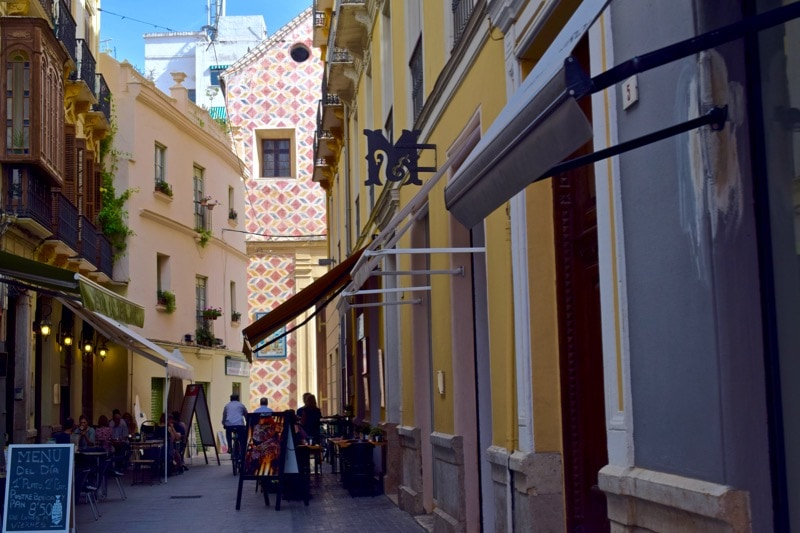 Streets of Malaga, Spain