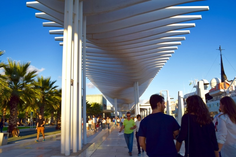 Cool modern architecture in Malaga