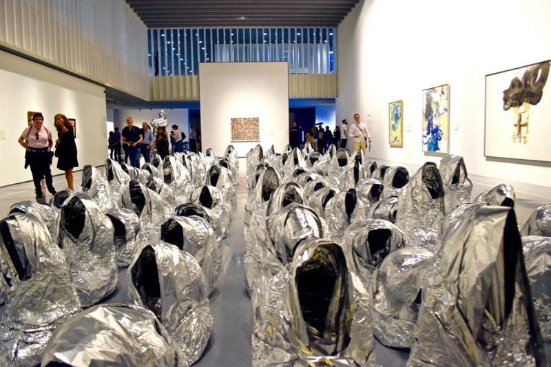 Art in the Pompidou Centre, Malaga
