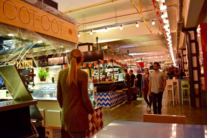 Mercado Merced, Malaga, Spain