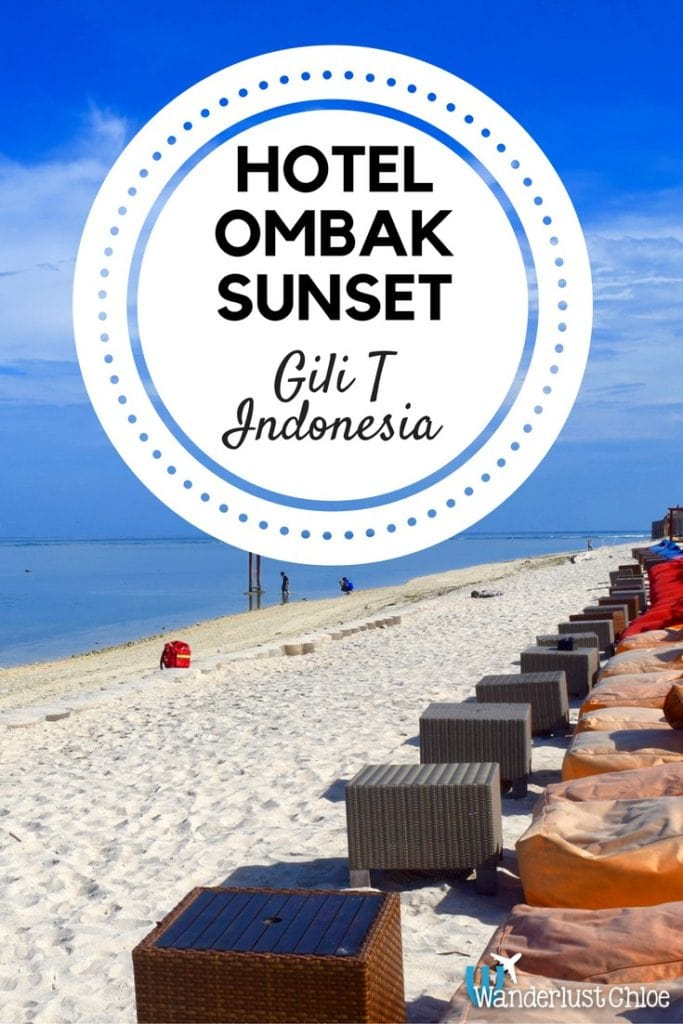 Hotel Ombak Sunset, Gili T, Indonesia