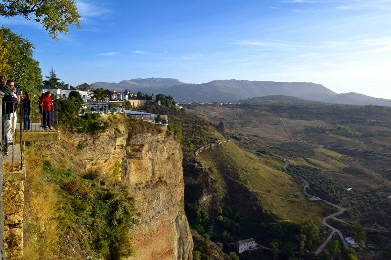 Breathtaking views in Ronda, Spain