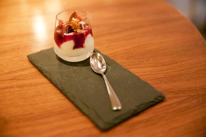 Pre-dessert at The Artichoke, Amersham