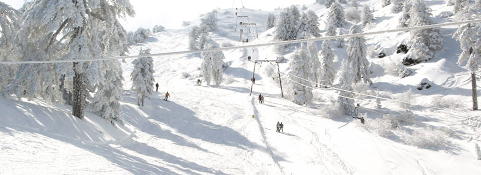 Skiing in Cyprus