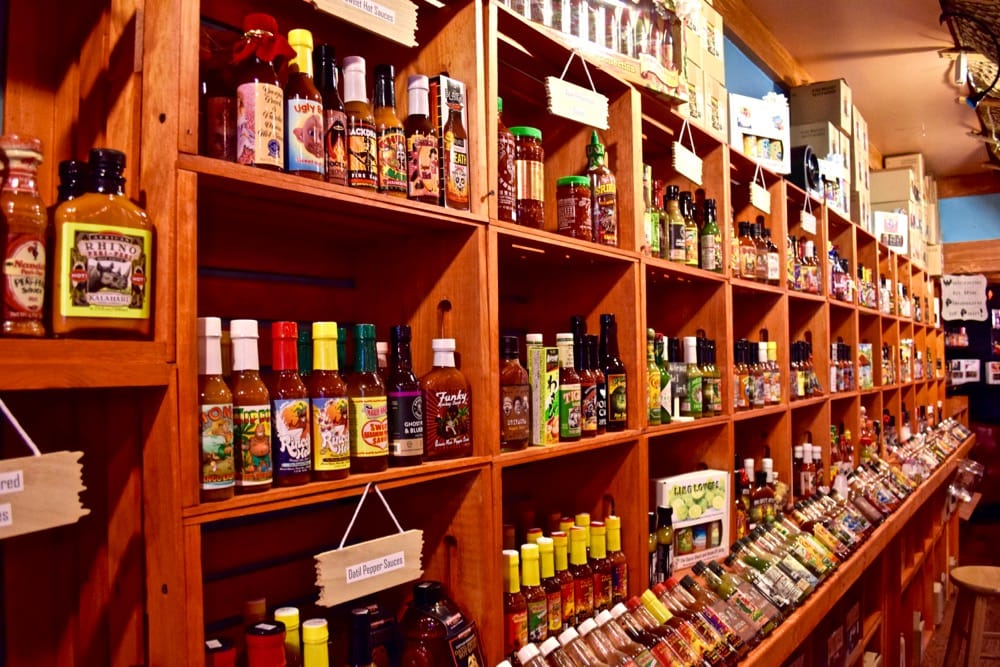 Hot sauce shop in Stuart, Martin County, Florida