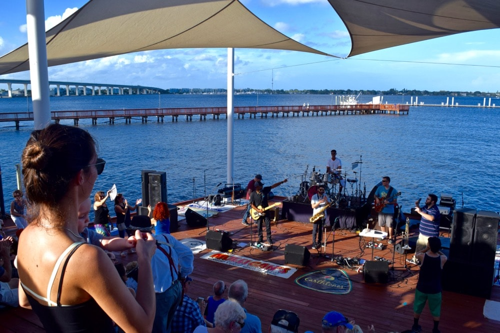 Rock'N Riverwalk in Stuart, Florida
