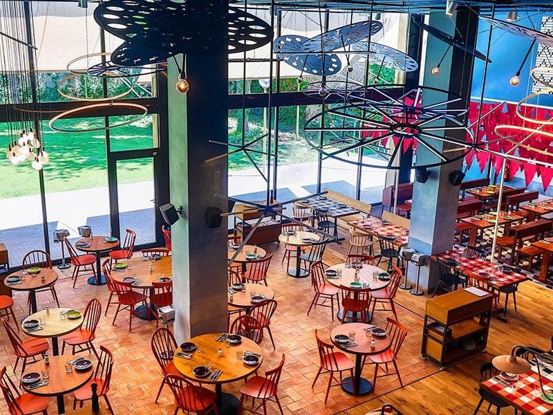 Bellavista del Jardín del Norte Restaurant, Barcelona