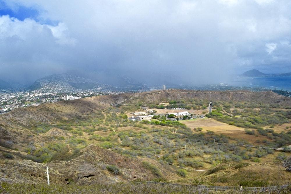 Views from Diamond Head Trail, Hawaii