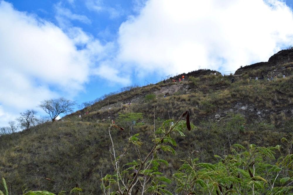 Diamond Head Trail, Hawaii