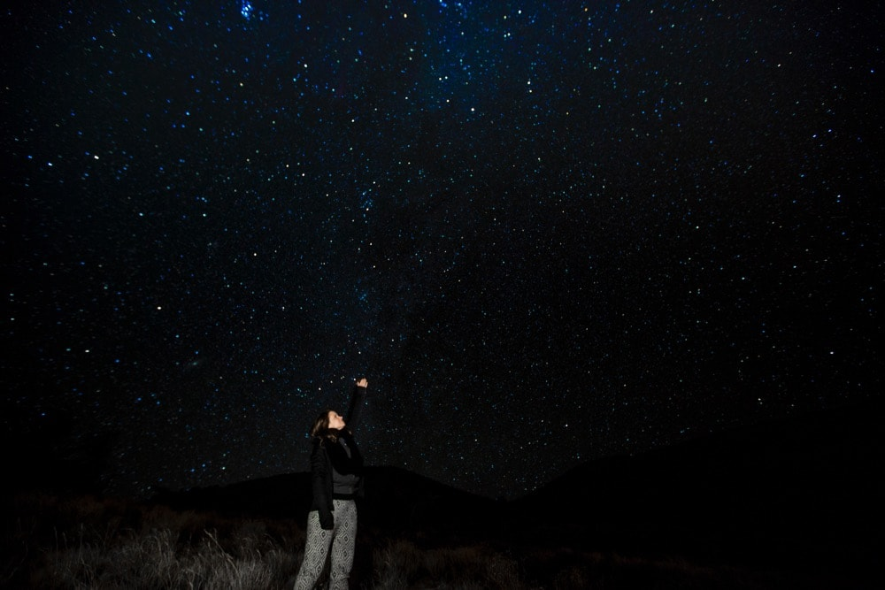 Stargazing on Mauna Kea, Hawaii