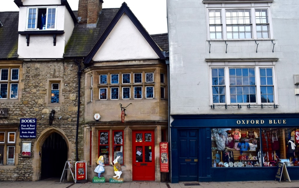 Alice's Shop, Oxford