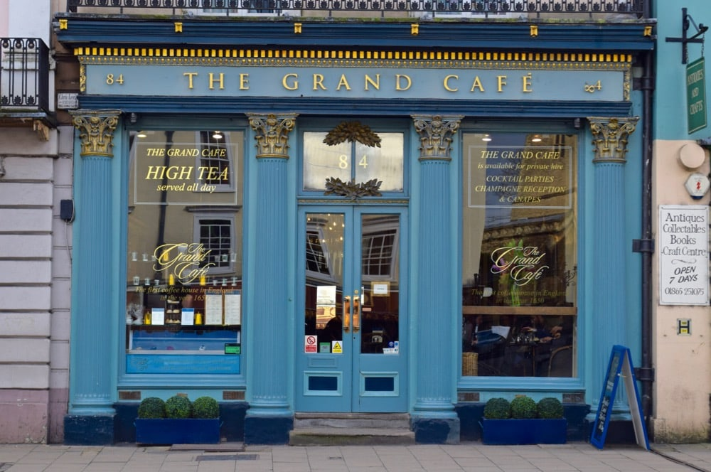 The Grand Cafe, Oxford