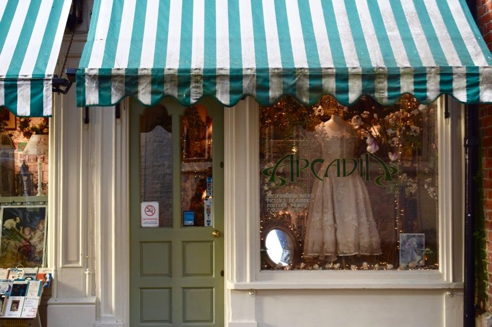 Arcadia vintage shop, Oxford