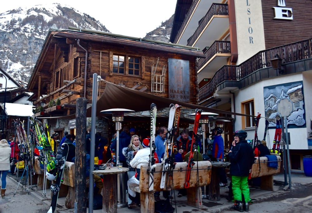 Harry's Bar in Zermatt, Switzerland
