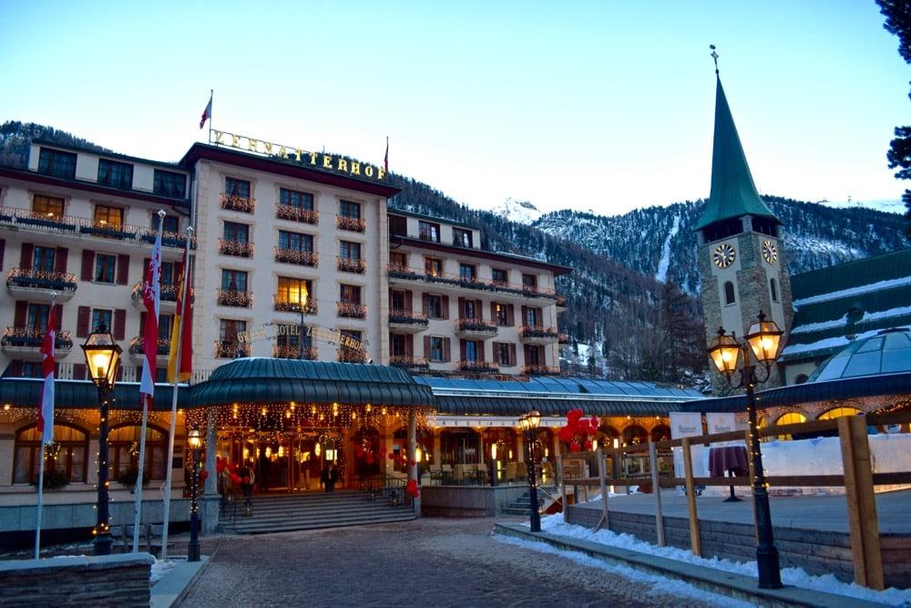 Zermatterhoff Hotel, Zermatt, Switzerland
