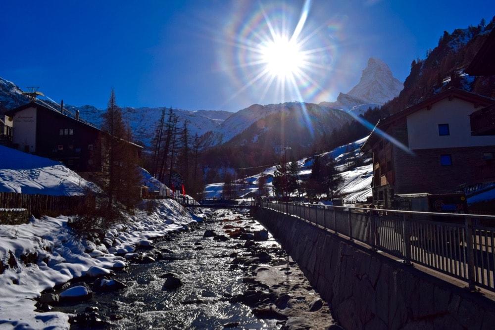 Visiting Zermatt in Winter