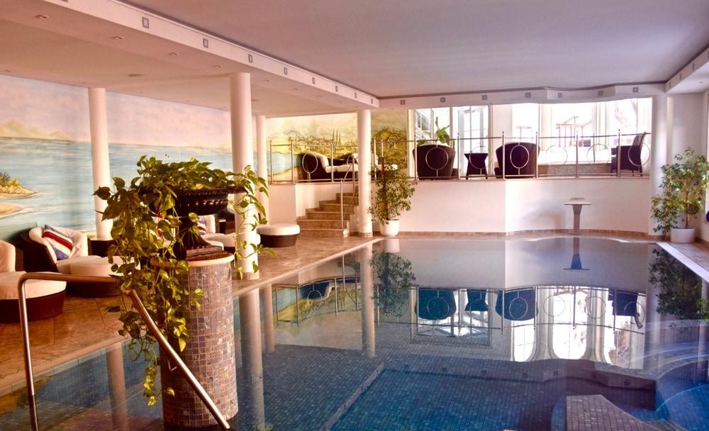 Swimming pool at Hotel Sonne Zermatt, Switzerland