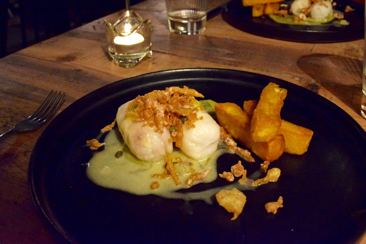 Fish and chips (with a twist!) at Hawkyns Restaurant, Amersham