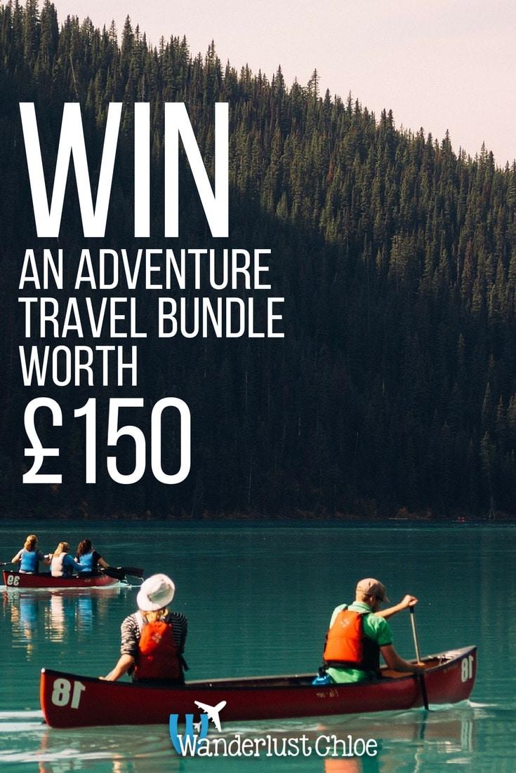 Win An Adventure Travel Bundle Worth £150