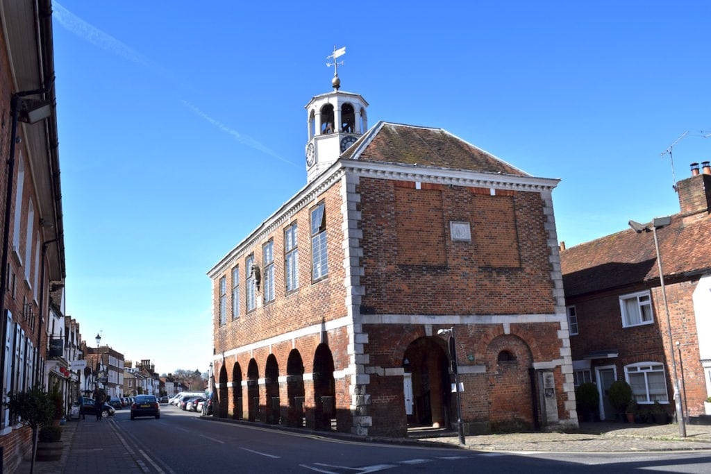 Amersham's old market hall