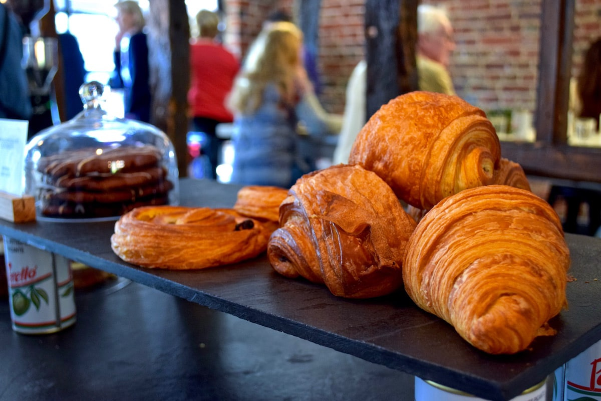 Fresh pastries at The Grocer, Amersham