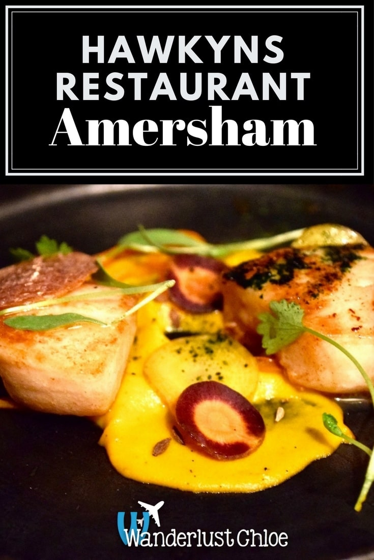 Hawkyns Restaurant, Amersham