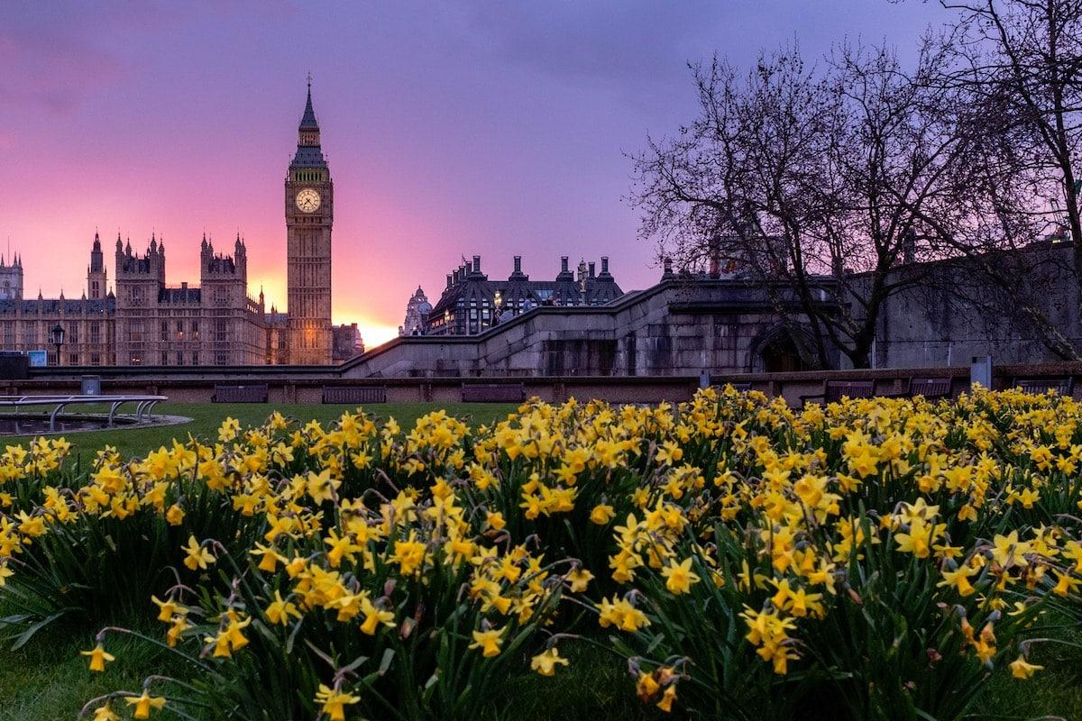 London Im April