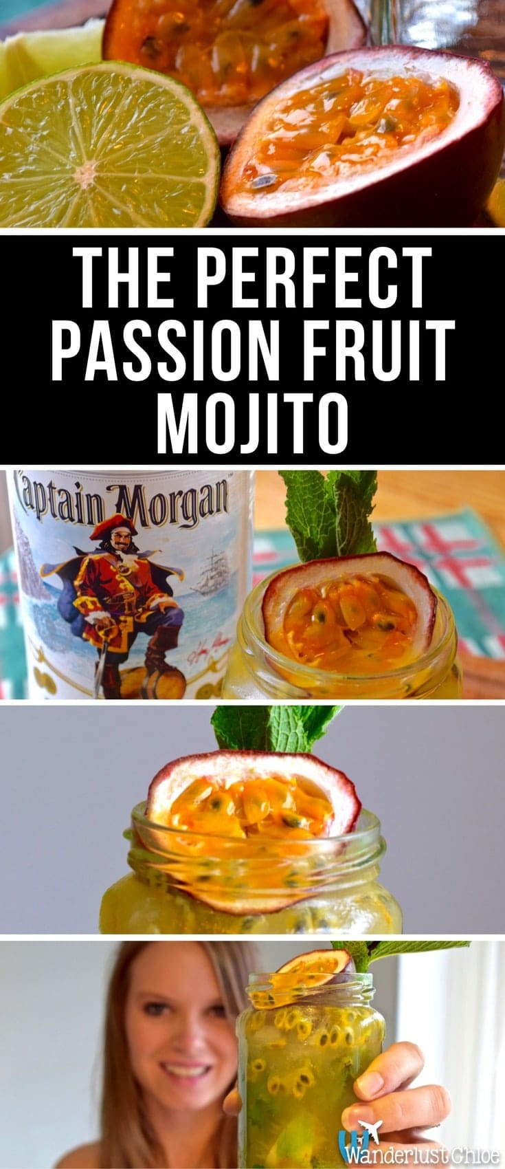 The Perfect Passion Fruit Mojito