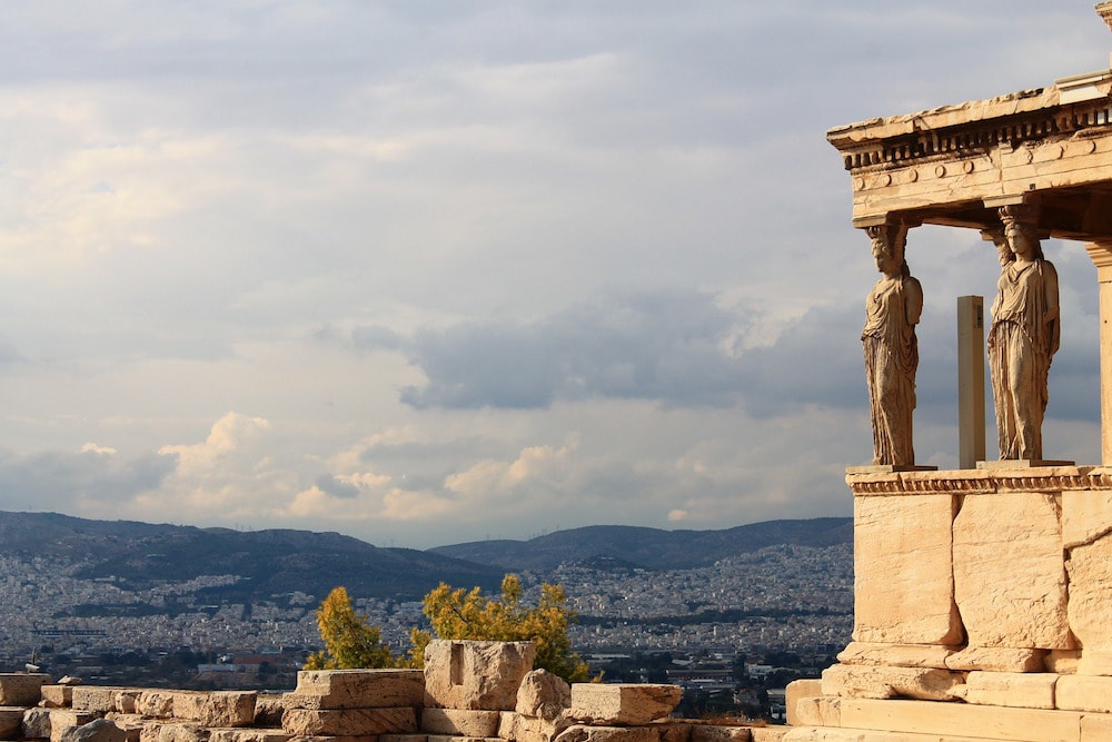 View from the Acropolis, Athens, Greece