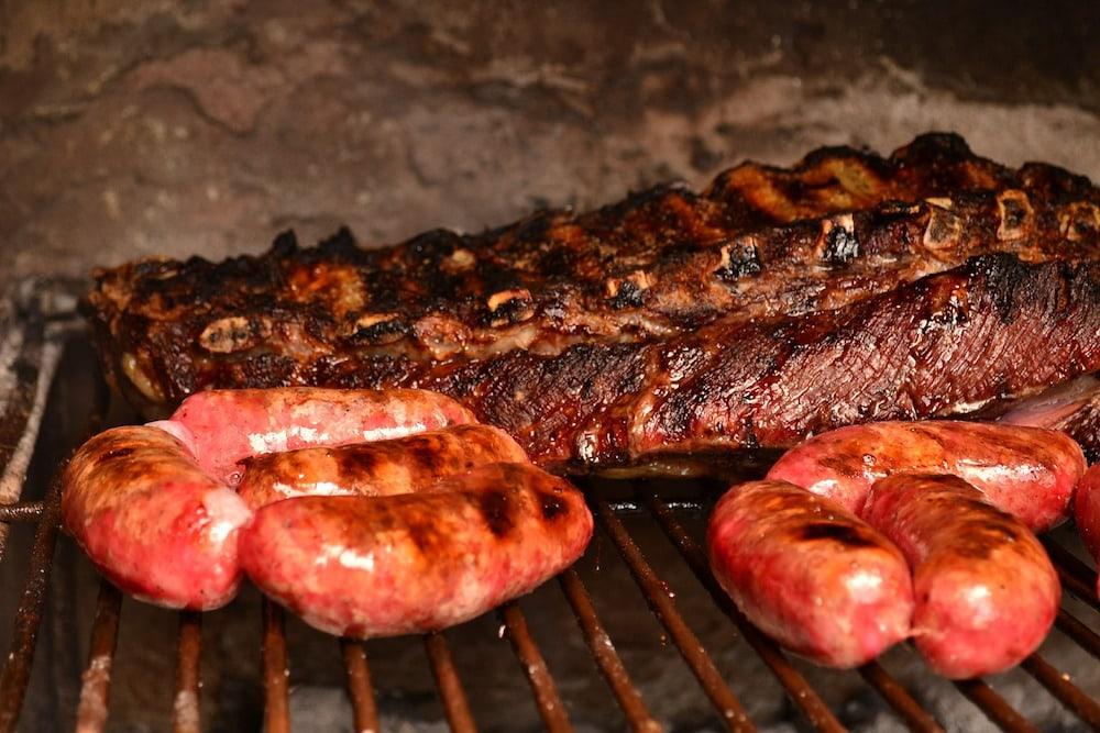 Argentine asado BBQ