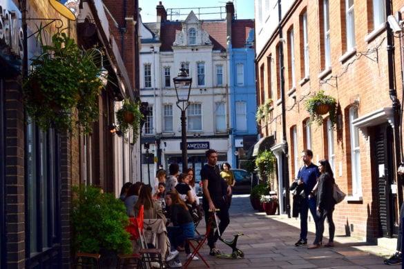 Cute side streets in Hampstead