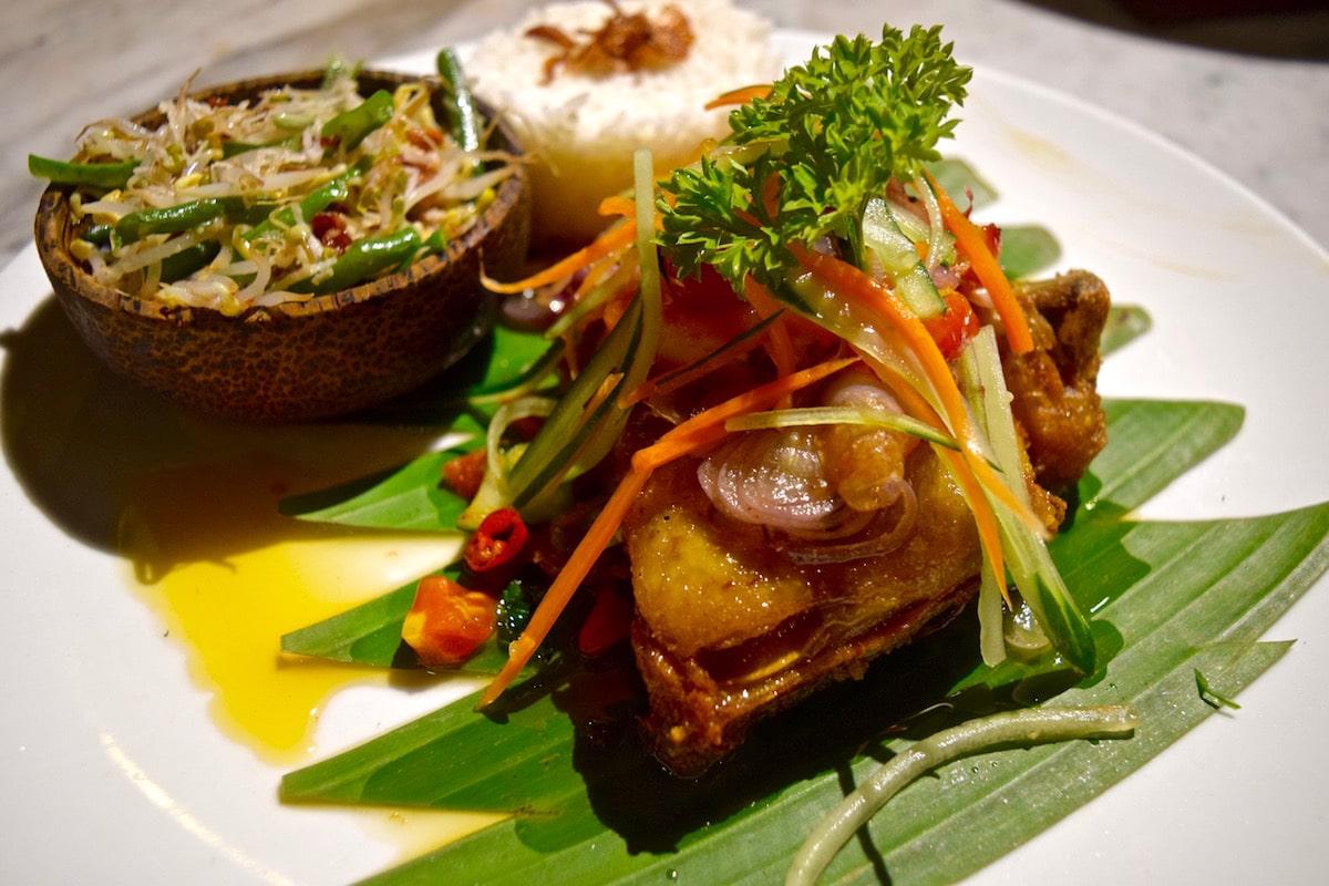 Tasty meal in Ubud, Bali