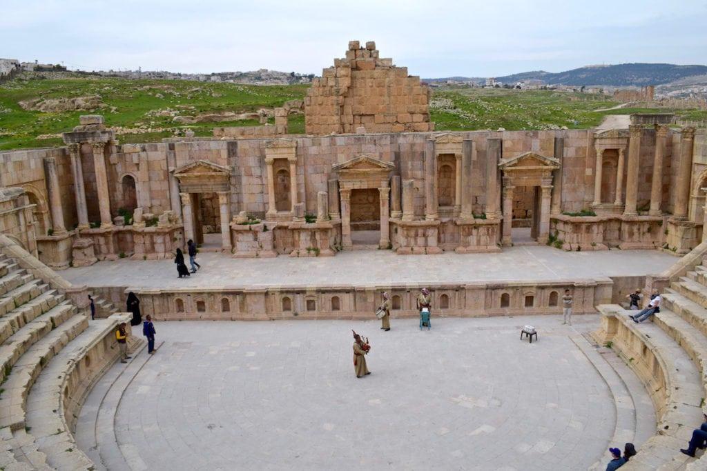Amphitheatre at Jerash, Jordan
