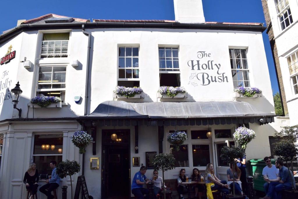 The Holly Bush Pub, Hampstead