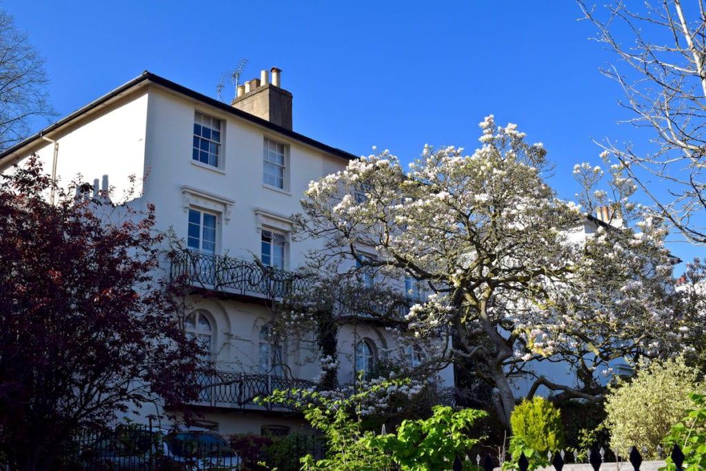Cute streets in Hampstead, London