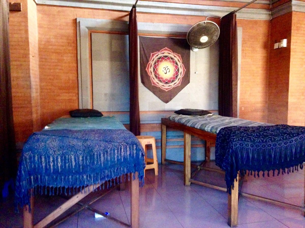 Pratama Spa massage beds