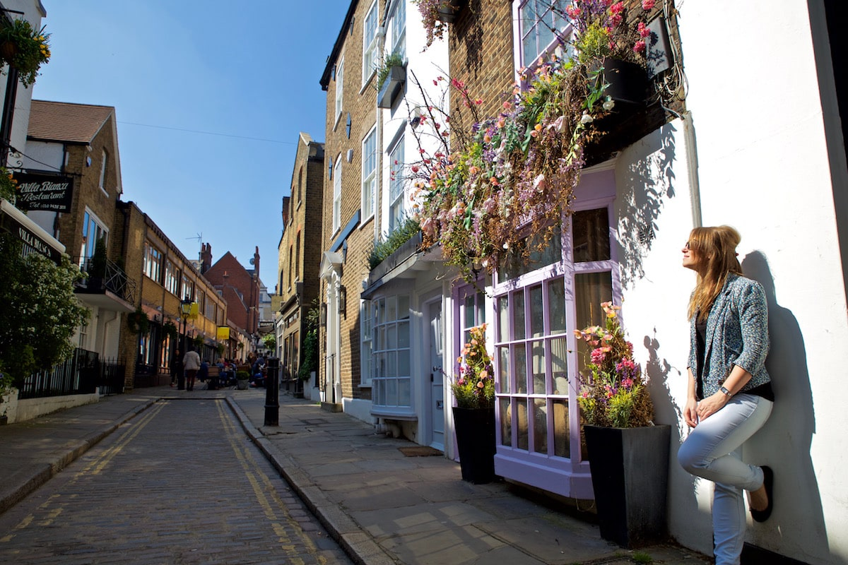 Loved exploring the cute streets in Hampstead
