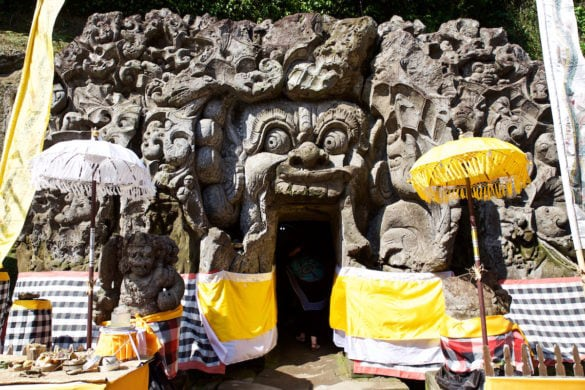 Goa Gajah Cave, near Ubud, Bali