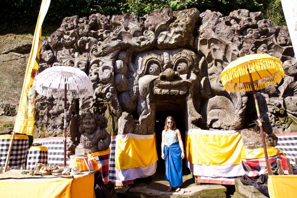 Goa Gajah Cave, near Ubud, Bali (Photo: Macca Sherifi)