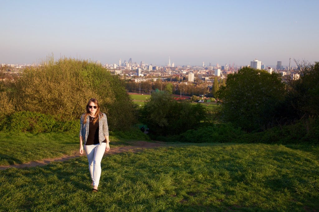 Amazing views from Parliament Hill, Hampstead