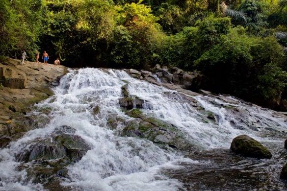 Goa Rang Reng Waterfall, near Ubud, Bali