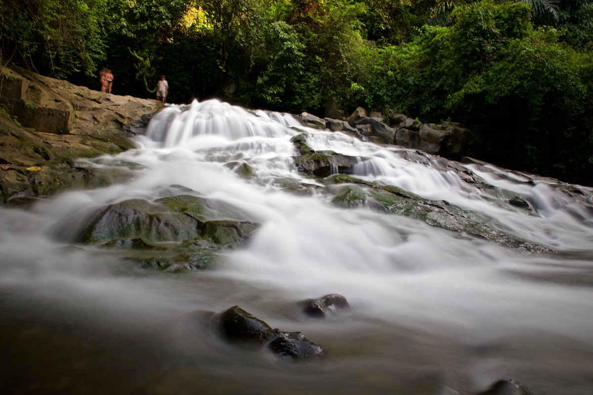 Ubud guide tips - visit Goa Rang Reng Waterfall, near Ubud, Bali (Photo: Macca Sherifi)
