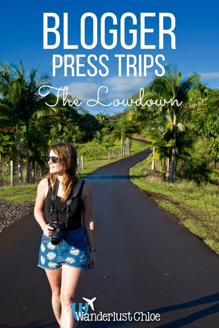 Blogger Press Trips: The Lowdown