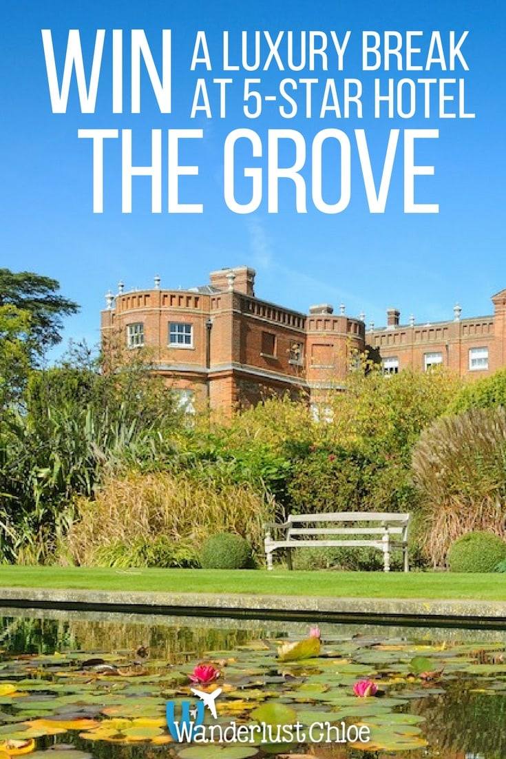 Win A Luxury Break At 5-Star Hotel The Grove, Hertfordshire